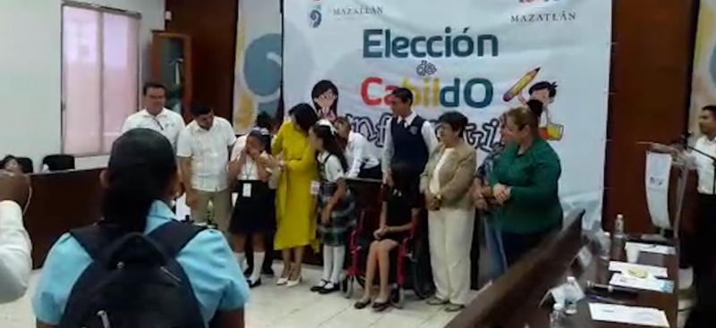 Es Maria Dayana López, nueva Presidenta Municipal Infantil