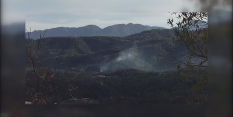 Controlado el incendio registrado en bosques de Surutato durante el pasado fin de semana