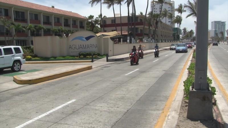 Se reactiva ocupación hotelera con llegada de motocilistas a Mazatlán