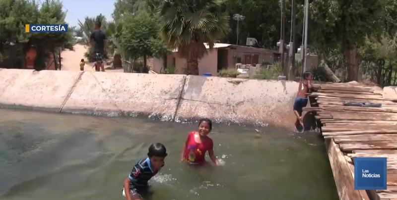 Exhortan a no bañarse en canales y ríos