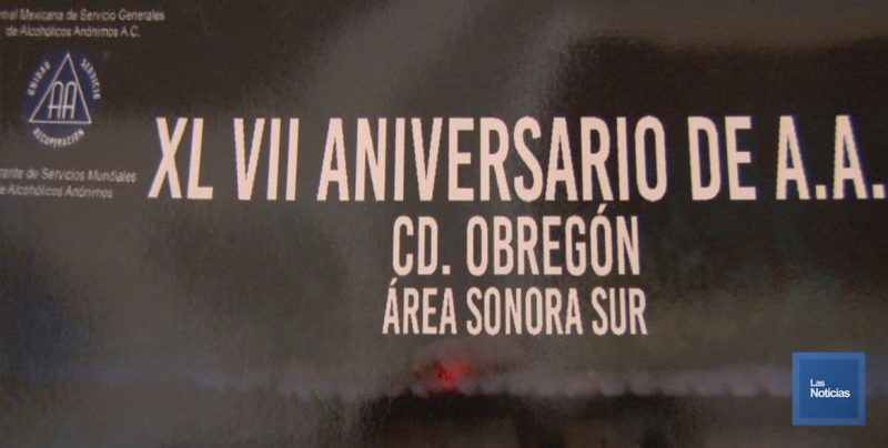 Cumple 47 años Alcohólicos Anónimos en Ciudad Obregón