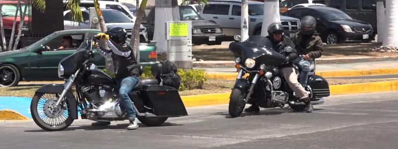 Los riesgos, son diversos y en diferentes niveles: Motociclistas