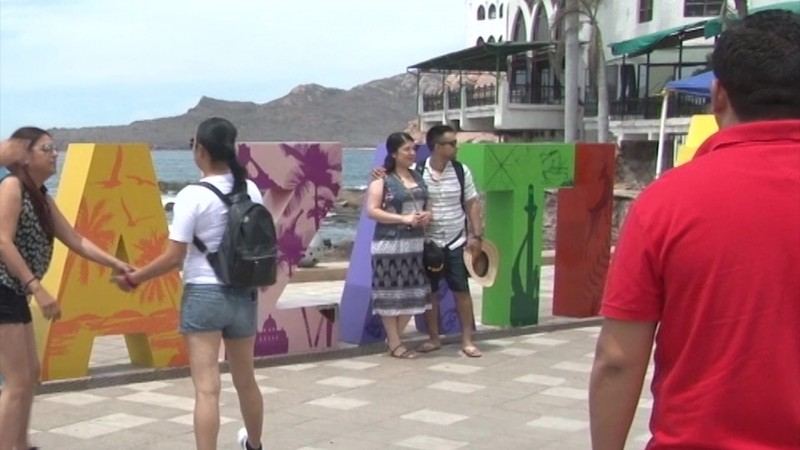 La foto indispensable en Mazatlán