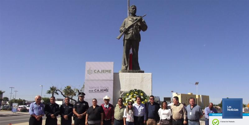 "Conmemoran 131 Aniversario luctuoso de José María Leyva ""Cajeme"""
