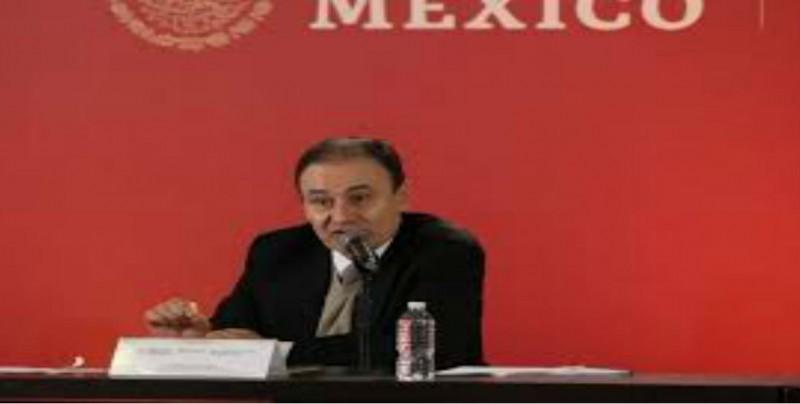 Comparece ante el Senado  Alfonso Durazo