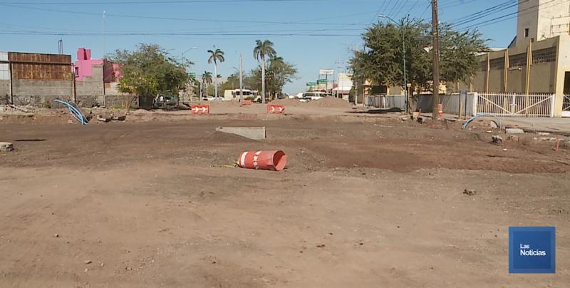 Se comprometen a concluir obra de calles Sufragio y Jalisco