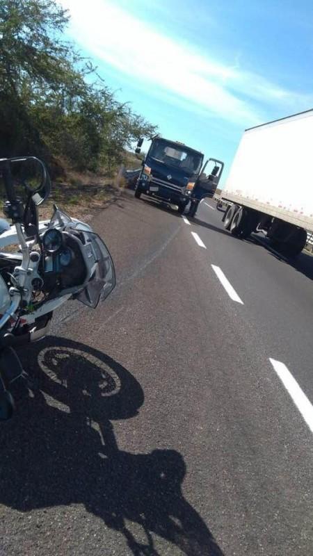 Fallece motociclista que viajaba a Mazatlán