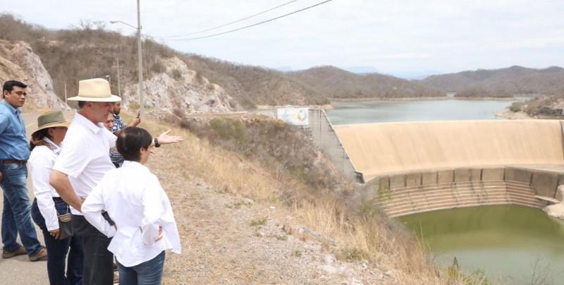 Realiza Gobernador recorrido de supervisión por la presa Picachos