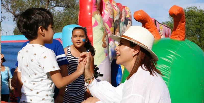 Festejan el DIF Sinaloa a los niños y niñas en Guasave