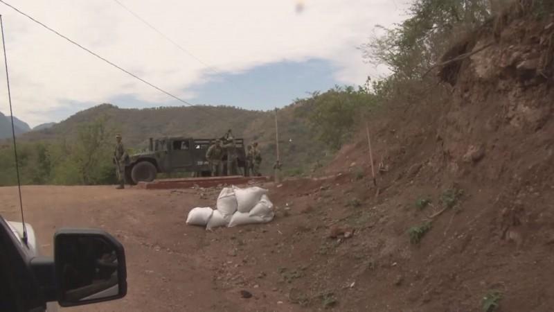 Instalan base militar y de policías en La Rastra municipio de Rosario, para reducir índices de inseguridad