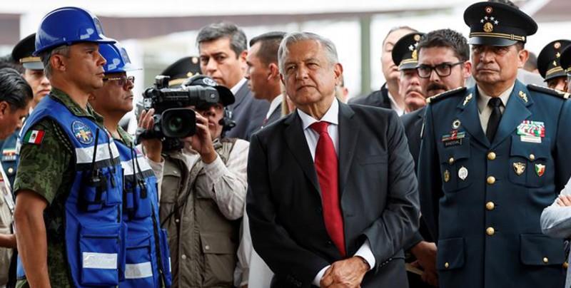 López Obrador inaugura construcción del nuevo aeropuerto