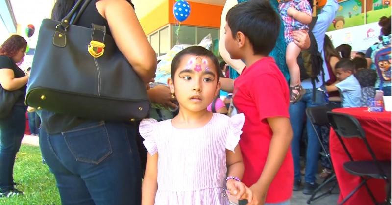 Salud y educación piden las niñas para festejar su día