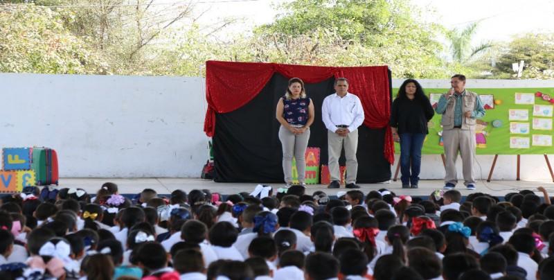Inició el Festival de la Cultura Infantil