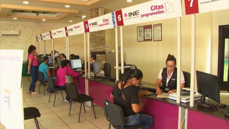 INE exhortó a la población a tramitar y actualizar la credencial de elector