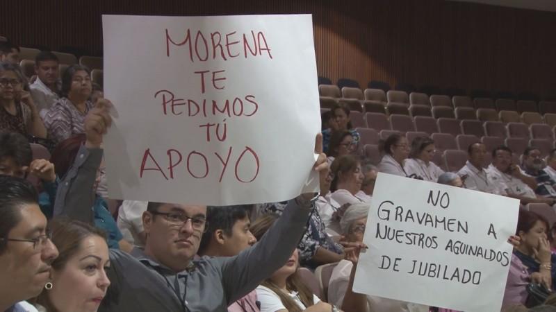 Solicita STASE atienda el congreso la Reforma Ley de Pensiones