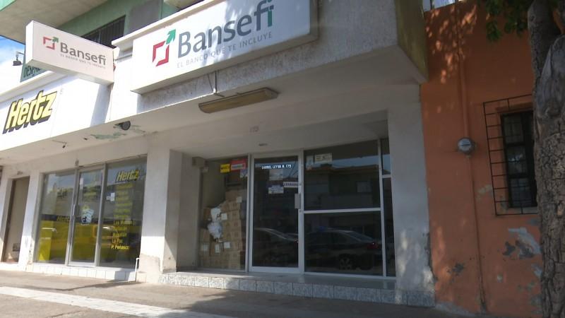 Se registra asalto a unidad bancaria BANSEFI