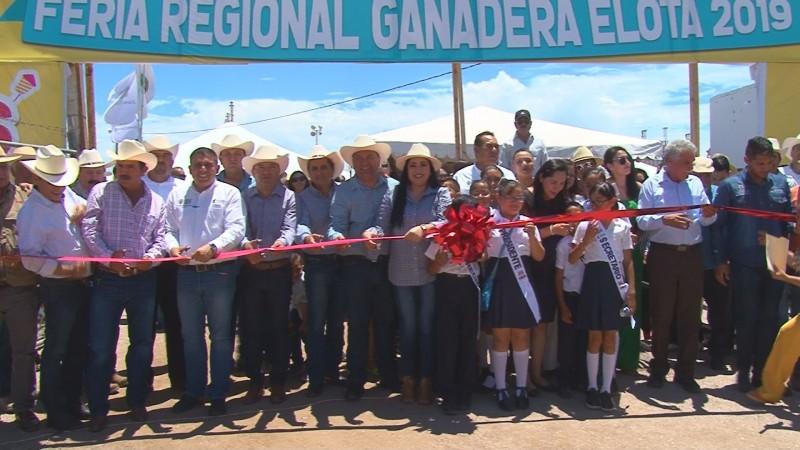 Inauguran Feria Ganadera Elota 2019