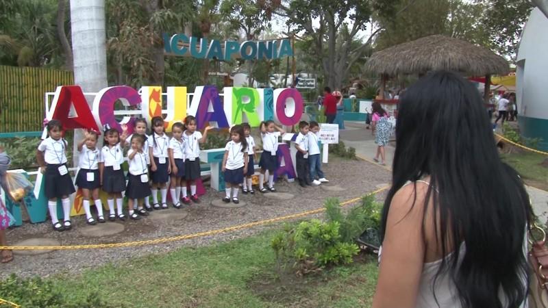 Acuario gratis para los niños y niñas este fin de semana en Mazatlán