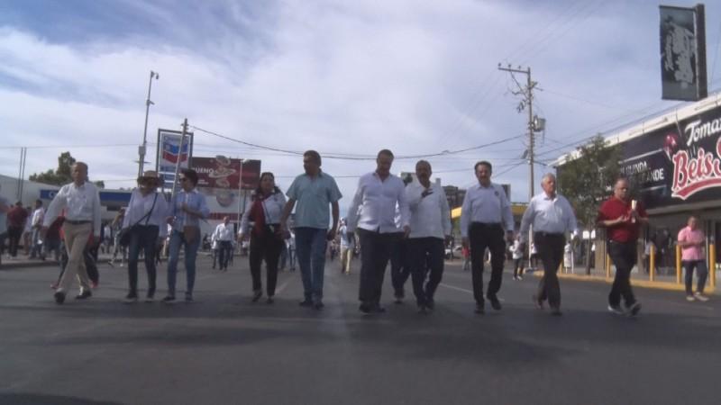 Llueven protestas en la conmemoración del día del trabajo