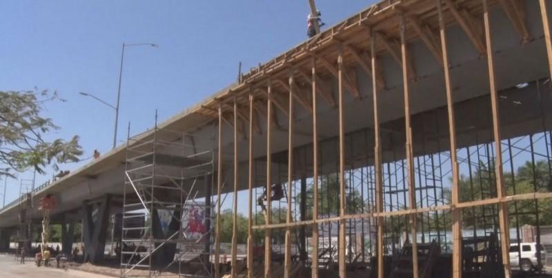 Finales de mayo, estará listo el puente superior Pedro Infante