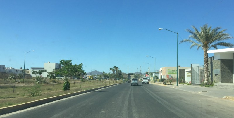 En espera de liberación de terreno para continuar boulevard Tamayo