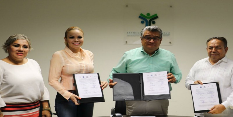 Firman convenio SESESP y el Instituto de la Defensoría Pública del Estado.