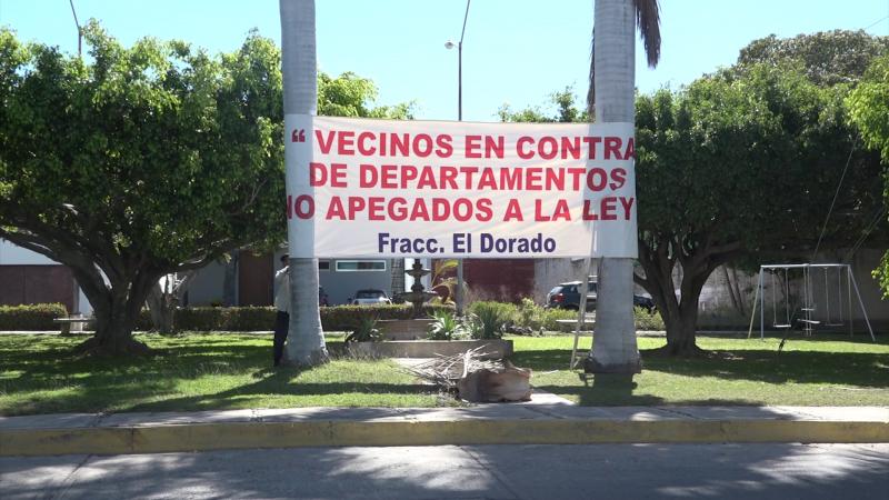 Vecinos inconformes piden se respete uso de suelo en fraccionamientos de la zona dorada