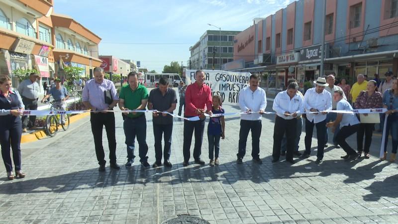 Inauguran la calle Guillermo Prieto en la zona 30