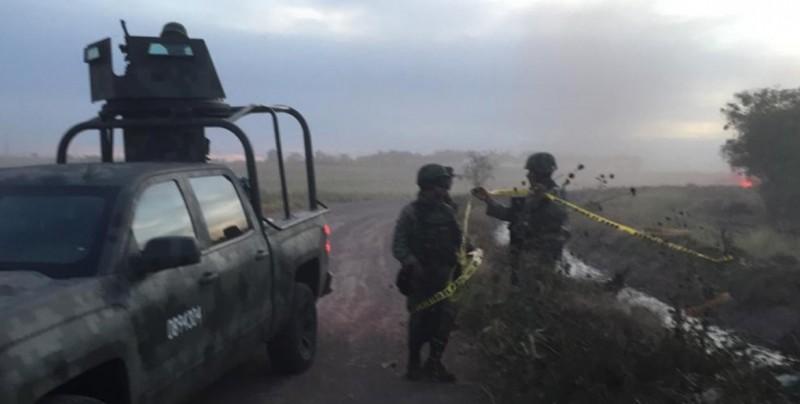 Se desploma avioneta en la Higuerita