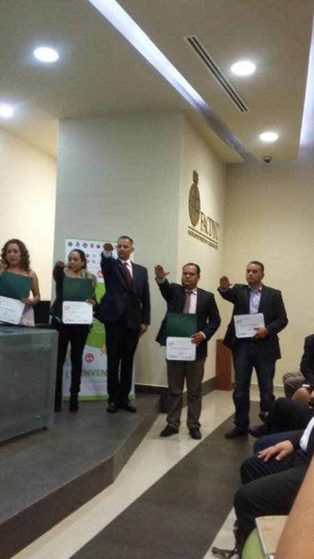 Rinde protesta Gabriel Peña como delegado de la FNCM Sinaloa