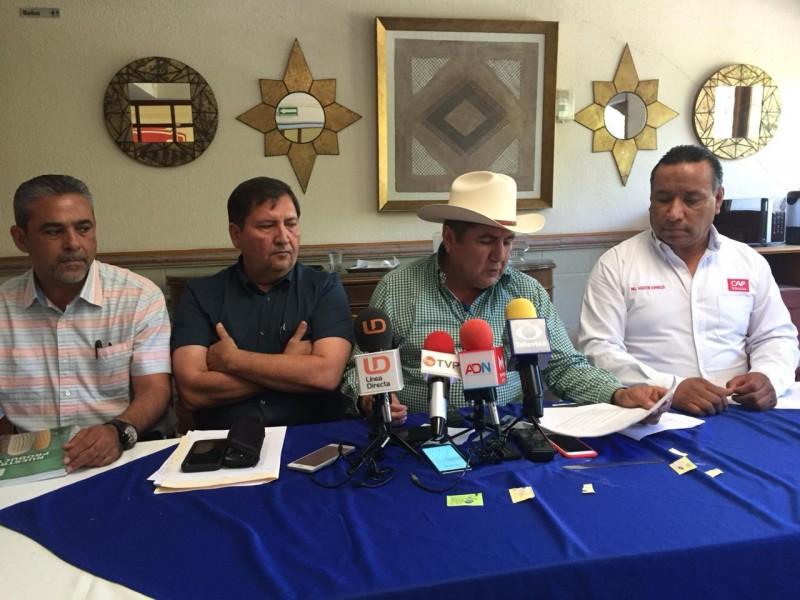 Las organizaciones agrícolas defenderán el precio de 4mil 150 pesos