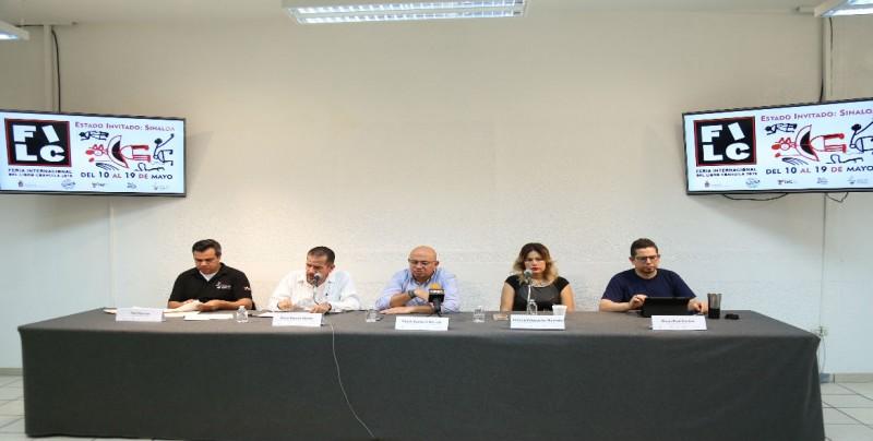 Listo Sinaloa para la 22ª Feria Internacional del Libro de Coahuila