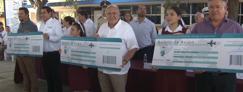 Apoyará comuna a estudiantes con boletos de avión a Brasil