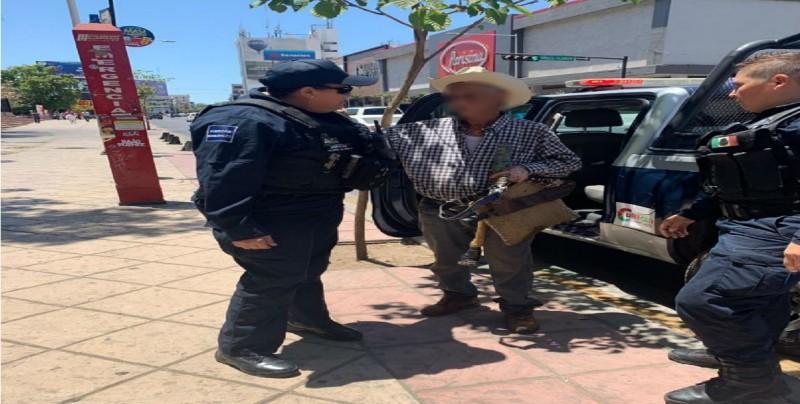 Policías de la SSPyTM localizan a un adulto de 107 años de edad