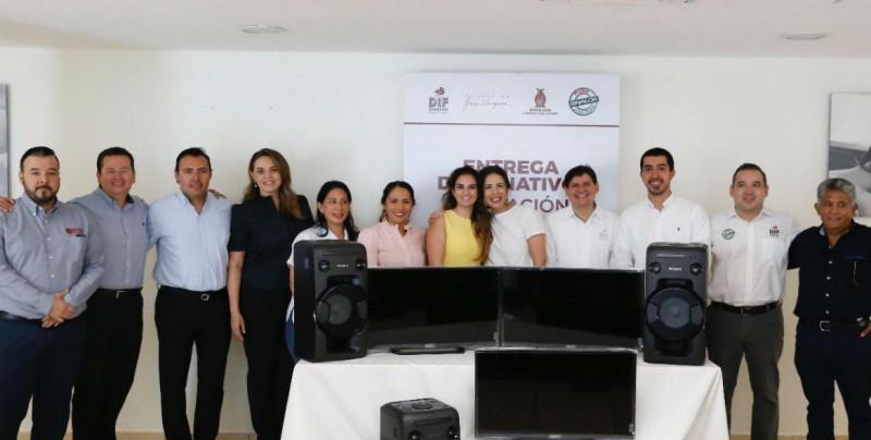 Refrendan lazos DIF Sinaloa y Fundación Jorge Vergara
