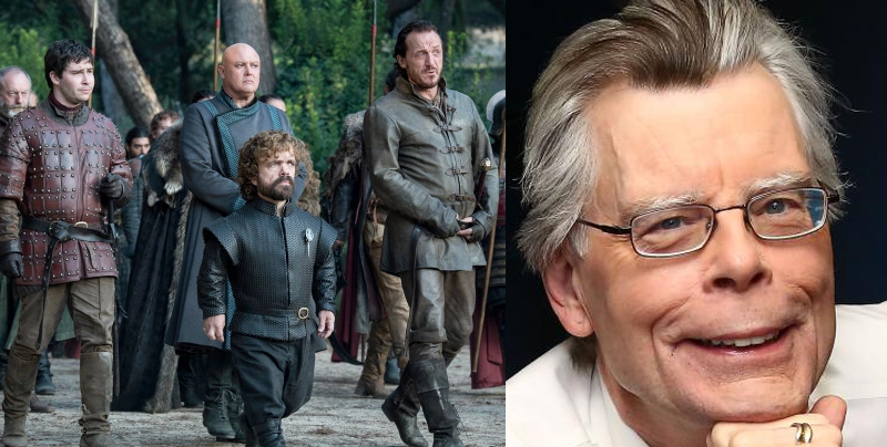 Stephen King tiene una teoría acerca del final de 'Game of Thrones'