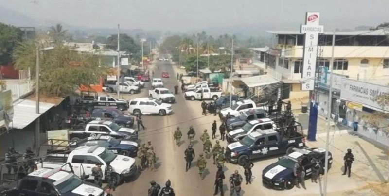 Violento choque armado deja al menos dos muertos en Guerrero