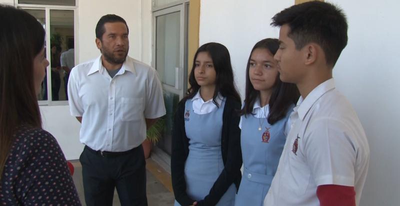 Buscan apoyo para concurso alumnos de secundaria en Mazatlán