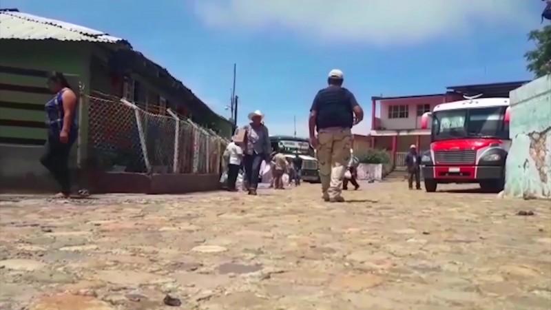 Verificadas 800 familias como desplazadas en Sinaloa