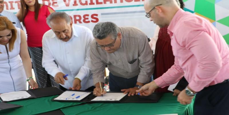 Firman convenio CONALEP Sinaloa  y el Secretariado Ejecutivo del Sistema Estatal de Seguridad Pública