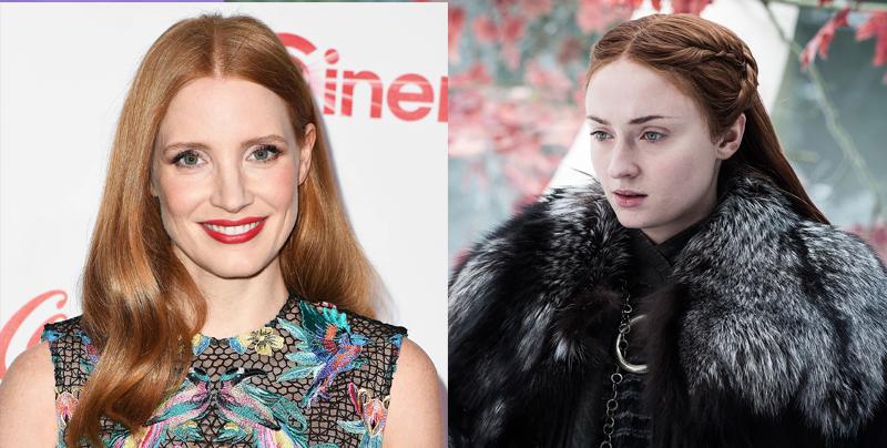 Jessica Chastain habla sobre el empoderamiento de Sansa a través de su violación