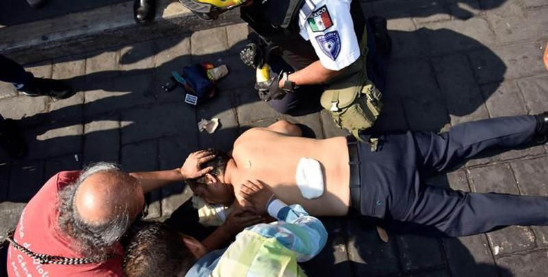Matan a empresario en balacera en el zócalo de Cuernavaca