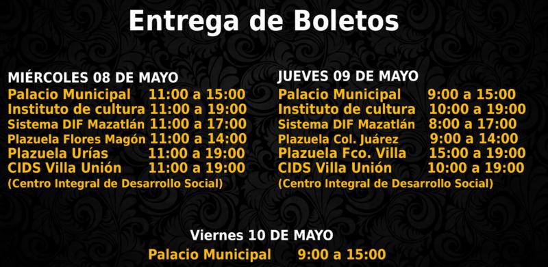 """Inicia entrega de boletos gratuitos para festejo del """"Día de las Madres"""""""