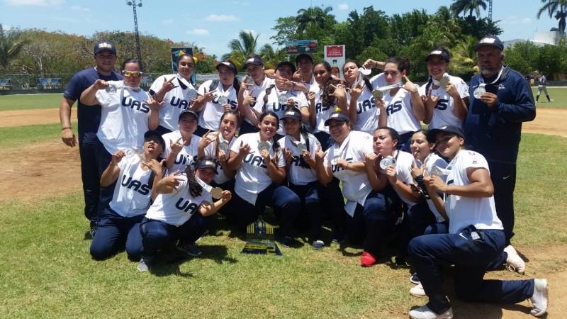 Plata para la UAS en el Softbol Femenil