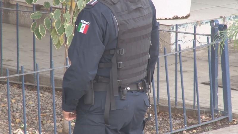 Policía Militar y Federal apoyan acciones de proximidad ante reducción de agentes de la Estatal Preventiva