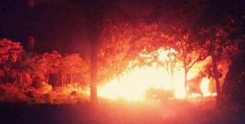 Explota un ducto de petróleo durante robo de combustible en Chiapas