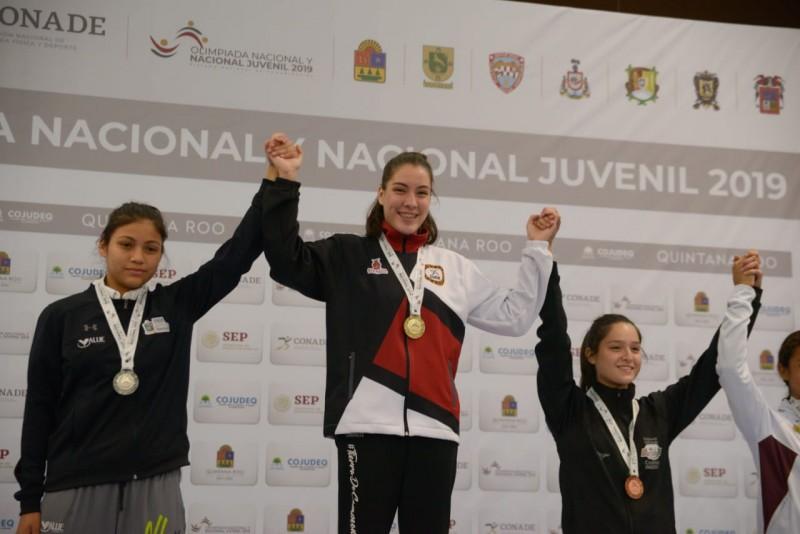 Marian Ramírez y Roberto Medina son oro en Olimpiada