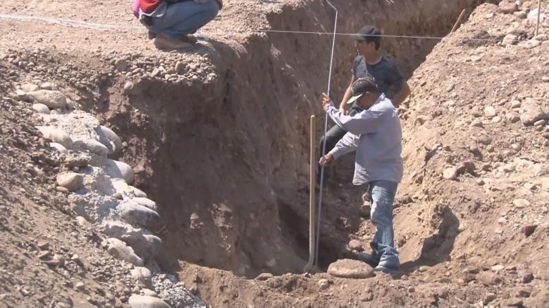 CONAGUA está aportando recursos para la rehabilitación del dren Bacurimí