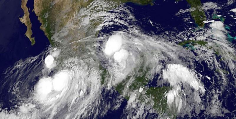 México prevé más ciclones por el Pacífico y menos por el Atlántico este 2019