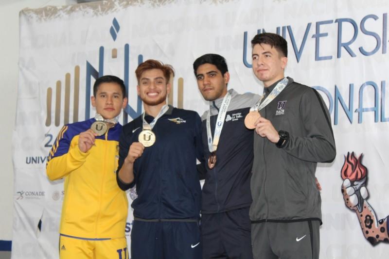 La UAS en quinto lugar en el medallero de Universiada